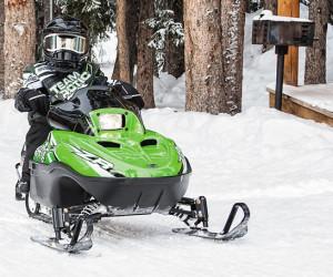 Снегоход ZR 120 фото