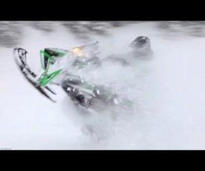 Видео Arctic Cat M1100 от Snowmobile