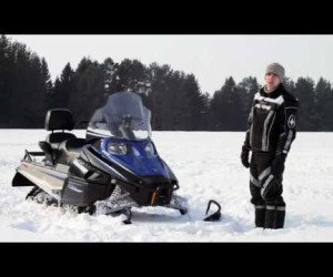 Видео обзор снегохода Arctic Cat Bearcat 570XT