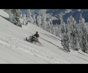 Видео Arctic Cat M1000 на горке