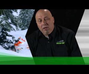 Видео обзор шасси горных снегоходов Arctic Cat