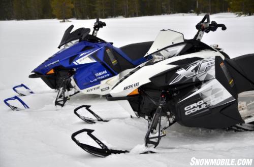 2014-Arctic-Cat-XF-7000-Cross-Country-Sno-Pro-Yamaha-Viper-XTX