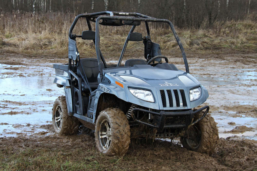 Тест-драйв Arctic Cat XTX 700