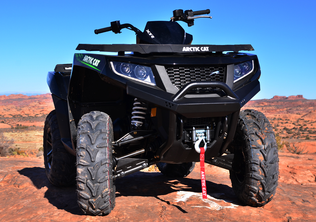 2015-Arctic-Cat-XR-ATV-Front
