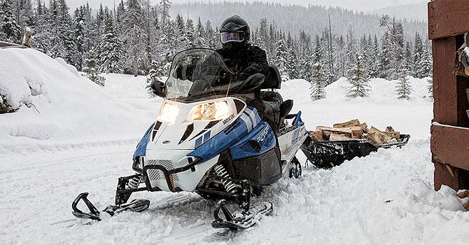 Продажа утилитарных снегоходов в Москве