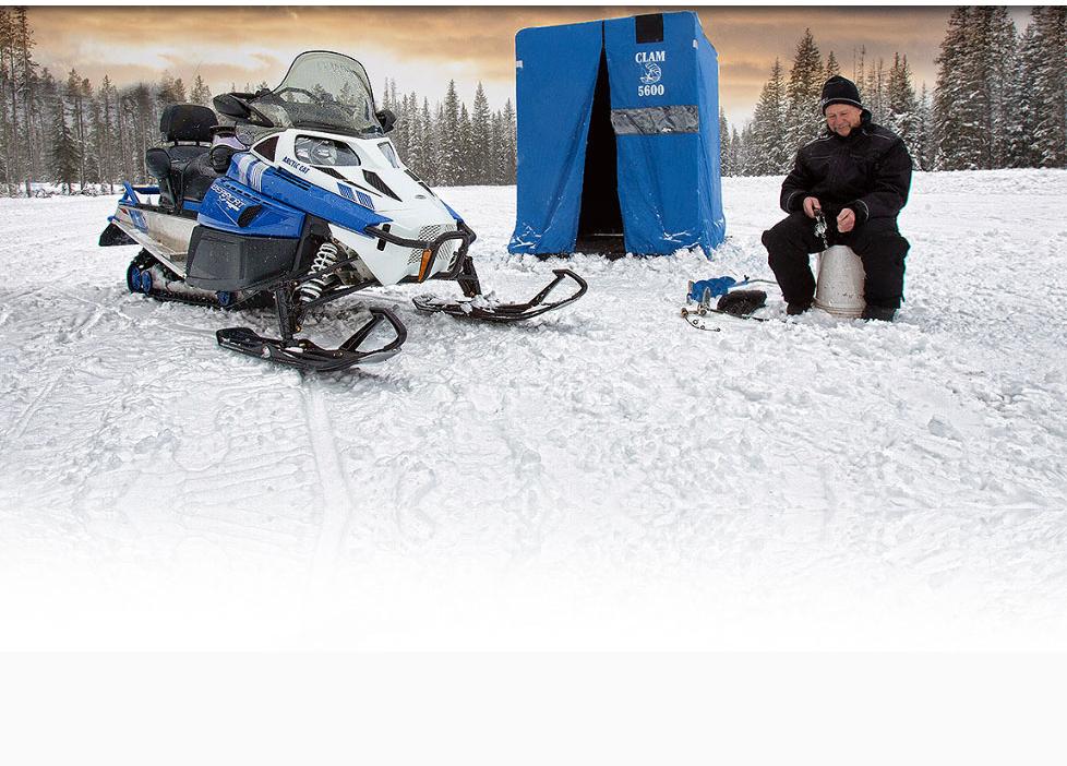Снегоходы для охоты и рыбалки