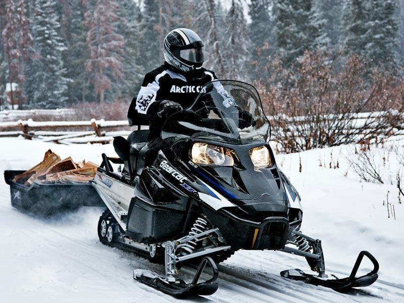 Снегоходы для охоты