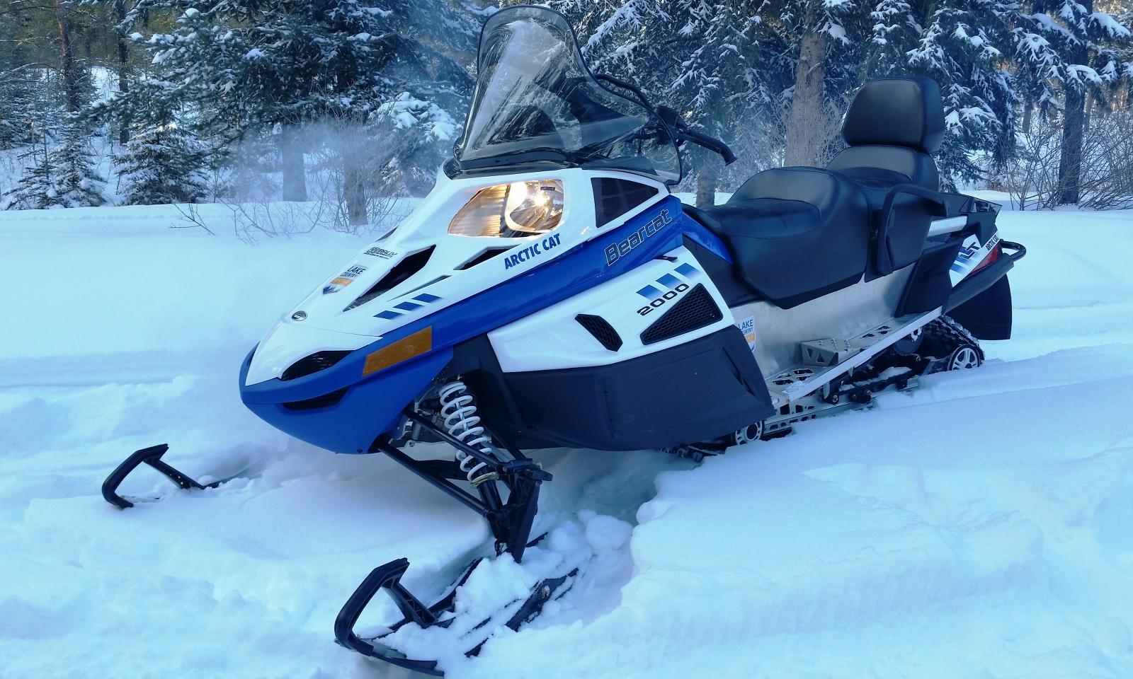 Купить снегоход эконом класса
