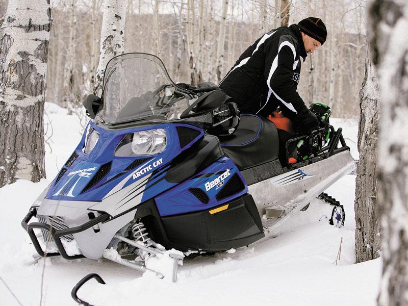 Охота на современных снегоходах
