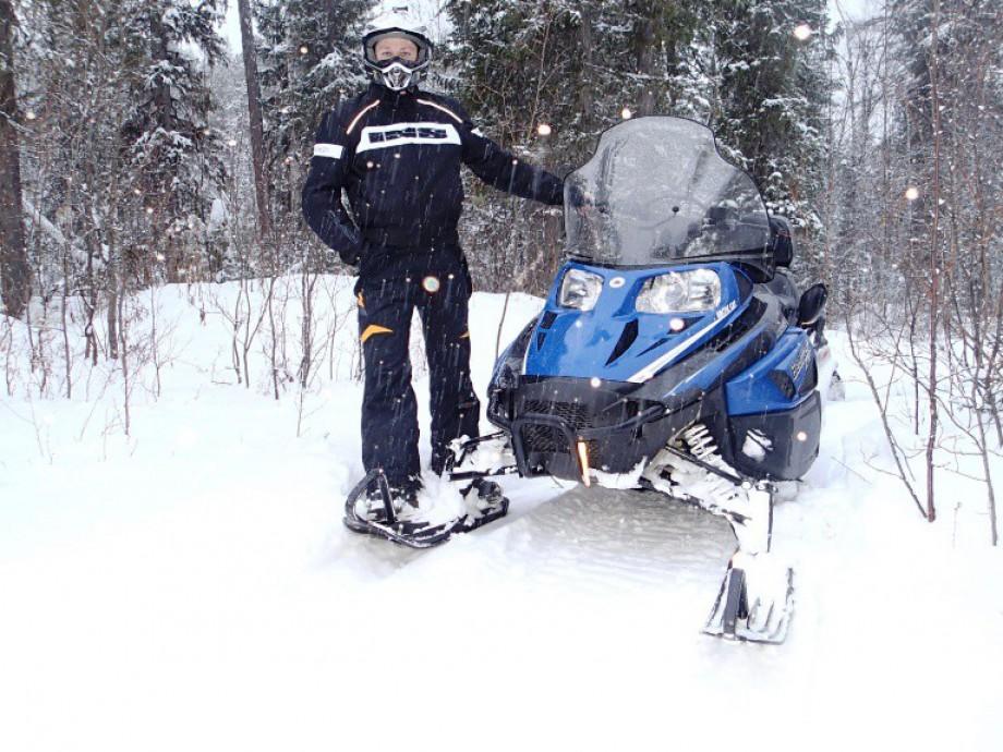 Сафари на снегоходе