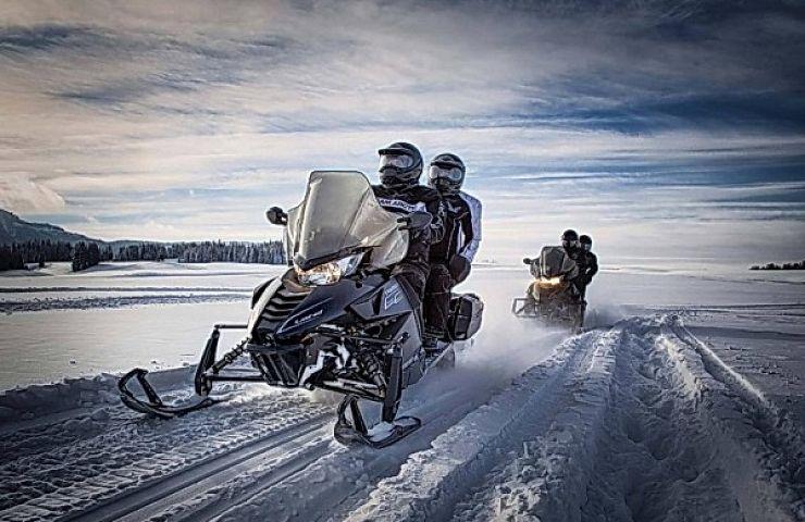 Туры на снегоходе в Подмосковье
