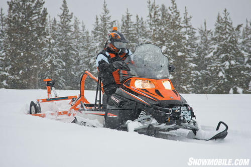 Утилитарные снегоходы 500