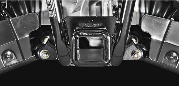 Заднее сцепное устройство для квадроцикла