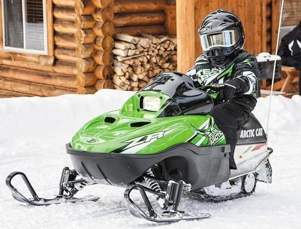 Снегоход 125 для ребенка