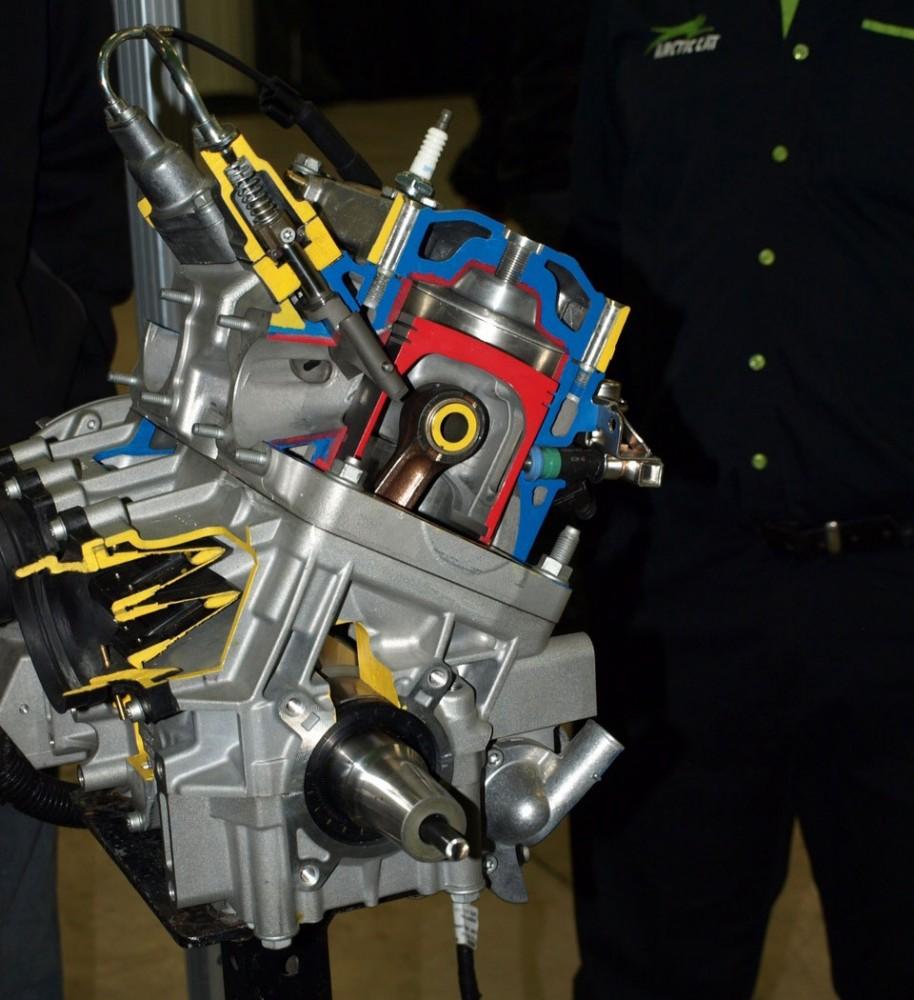 Новый мотор Arctic Cat 800 кубов